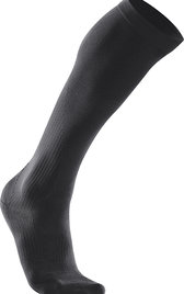 2XU Performance Run Socks Svart Dam