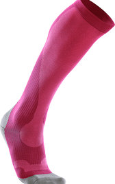 2XU Performance Run Socks Rosa/Grå Dam