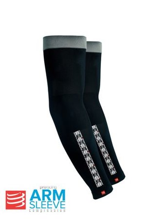 Compressport AS ProRace Armsleeves Svart